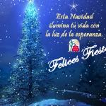 ACLAFEBA. FELICES FIESTAS. Esta Navidad ilumina tu vida con la luz de la esperanza