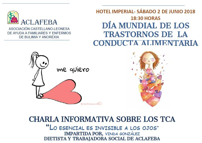 cartel de la charla informativa 2 junio