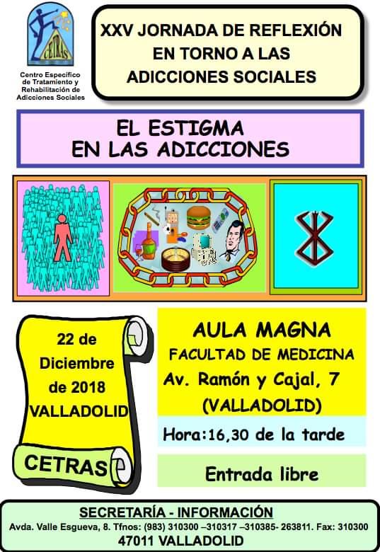 XXV Jornada de reflexión en torno a las adicciones sociales