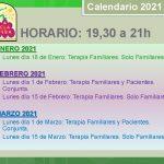 Horario - Calendario 2021