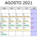 mes agosto 2021